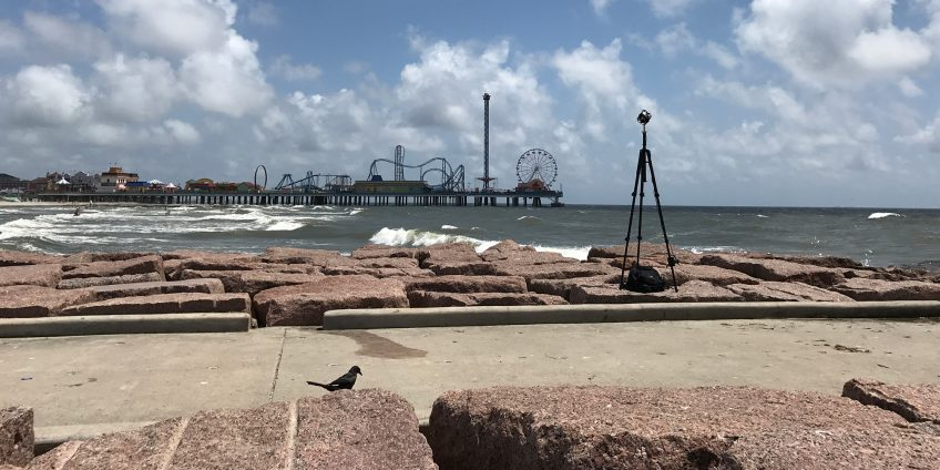 Galveston Island Seawall Jetty