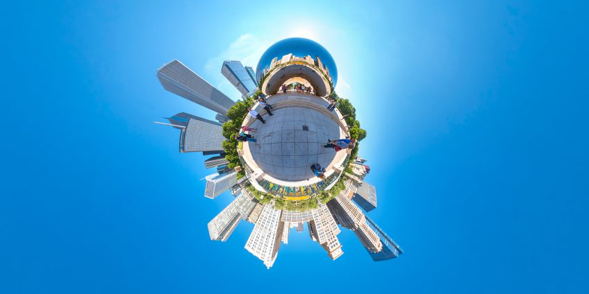 Tiny Planet – Chicago