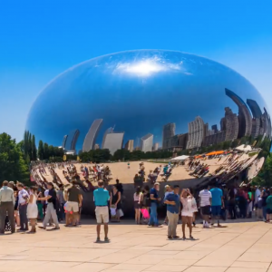 Cloud Gate – The Bean, Chicago