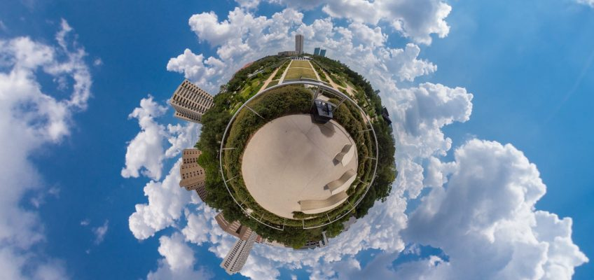 Tinyplanets for Earth Day